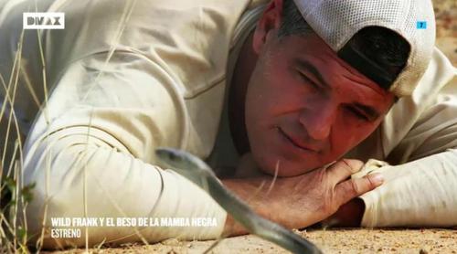 'Wild Frank': Frank Cuesta busca el beso de la mamba negra en la 11ª temporada