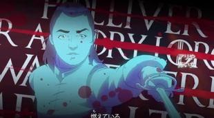Así sería la cabecera de 'Juego de Tronos' si fuera una serie anime