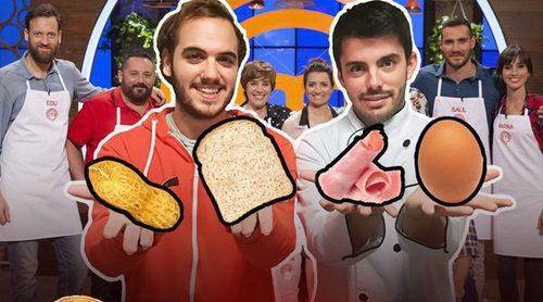 'Sí, MasterChef': ¿Cómo se puede volver tan loca Silvia Abril con pan, jamón York, un cacahuete y un huevo?