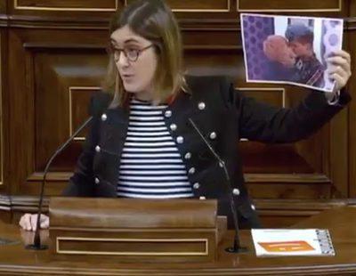 El beso de Marina y su novio en 'OT 2017' llega al Congreso gracias a la diputada Marta Sorlí Fresquet