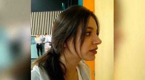 """Ana Guerra busca desesperadamente un gel en la divertida """"película"""" de 'OT 2017'"""