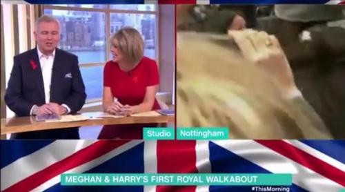 Alison Hammond enloquece tras entrevistar a Meghan Markle ('Suits') en su primera aparición pública
