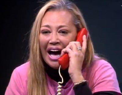 """Belén Esteban hace una llamada telefónica a las protagonistas de """"Chicas malas"""": """"¿Habla usted español?"""""""