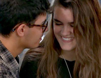 """'OT 2017': Alfred y Amaia ensayan """"Escondidos"""", la canción que cantarán en 'El chat'"""