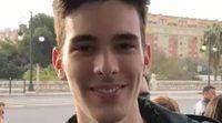 Primeras declaraciones de Vicente, novio de Aitana de 'OT 2017', en la firma de discos de Valencia