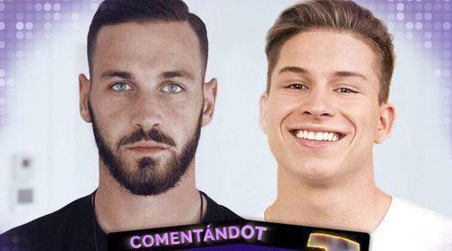 'Fórmula OT': El futbolista Álvaro Vázquez desvela cómo está viendo a su hermano Raoul en 'OT 2017'