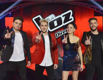 """FormulaTV en el ensayo de la final de 'La Voz 5' con los finalistas cantando """"Otra vez"""""""