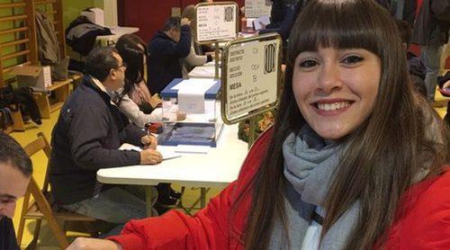 Alfred, Aitana y Nerea vuelven a la Academia de 'OT 2017' tras votar en las elecciones de Cataluña