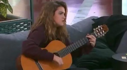 Amaia canta la intro de 'Friends' en la Academia de 'OT 2017'