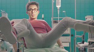 Berto Romero, a punto de dar a luz en la nueva promo de 'Mira lo que has hecho', la nueva serie de Movistar+