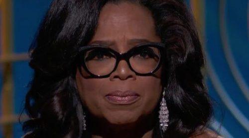 Oprah Winfrey y su poderoso discurso feminista en los Globos de Oro 2018 al recoger el premio Cecil B. DeMille