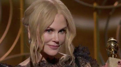 """Nicole Kidman y su emotivo discurso sobre """"el poder de las mujeres"""" en los Globos de Oro 2018"""