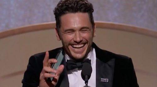 James Franco invita a Tommy Wiseau al escenario de los Globos de Oro 2018 al recibir su premio