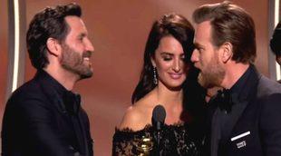 Penélope Cruz, encargada de entregar el Globo de Oro como Mejor Actor a Ewan McGregor