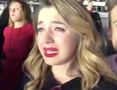 """Mimi ('OT 2017') se emociona en el concierto de Lady Gaga al escuchar """"A-YO"""""""