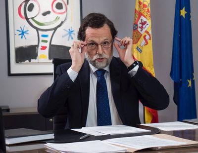 El Mariano Rajoy de 'El show de nuestro presidente' saluda a FormulaTV