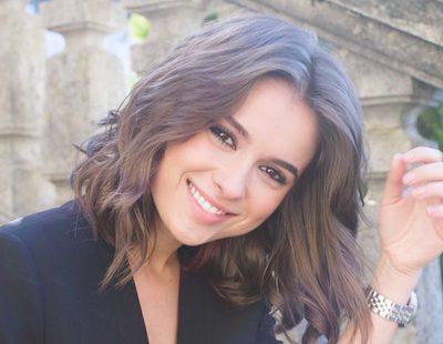 """Giulia Charm ('Vivir sin permiso'): """"Mi primera secuencia fue con Coronado y tenía miedo a no dar la talla"""""""