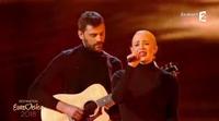 "Madame Monsieur interpreta ""Mercy"", la canción de Francia para Eurovisión 2018"