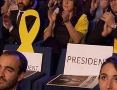 David Verdaguer recuerda a los presos políticos catalanes y a Carles Puigdemont en los Premios Gaudí 2018
