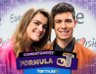 'Fórmula OT': Así vivimos nuestro primer encuentro con Amaia y Alfred en la rueda de prensa de Eurovisión 2018