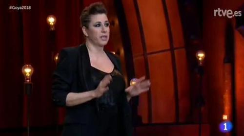 Goya 2018: El feminista y reivindicativo discurso de Pepa Charro