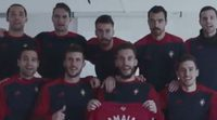 El viral vídeo de apoyo del Osasuna para apoyar a Amaia en la final de 'OT 2017'