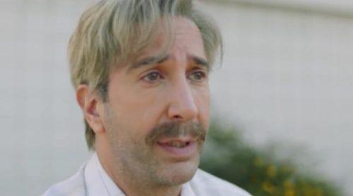 Anuncio de Skittles para la Super Bowl 2018, protagonizado por David Schwimmer