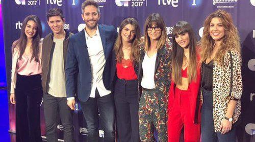 'OT 2017': Rueda de prensa tras la Gran Final con Amaia, Aitana, Miriam, Alfred y Ana Guerra