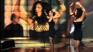 """Azúcar Moreno canta y baila """"Lo malo"""", de Aitana War, en el montaje que arrasa en redes sociales"""
