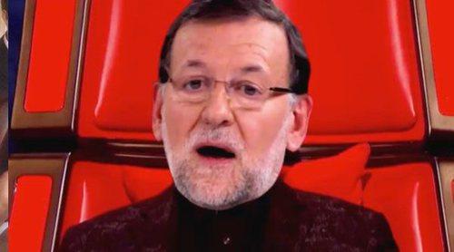 'Late motiv' se ríe de Marta Sánchez y su himno de España en una parodia de 'La voz' con políticos