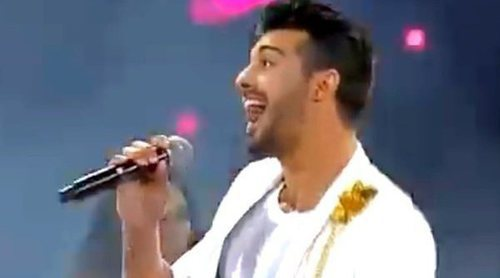 """Jorge González interpreta """"Tu boquita"""" en el Festival de Viña del Mar 2018"""