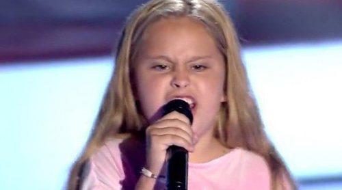 "'La Voz Kids 4': Yastina deja boquiabiertos a los coaches con ""The best"", de Tina Turner"