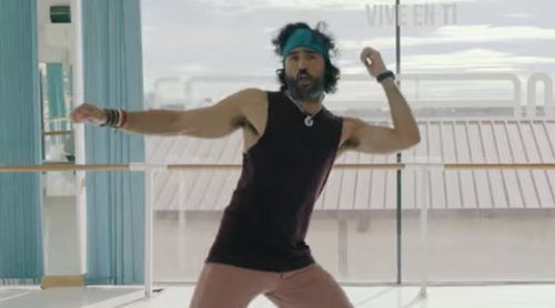 'Fama a bailar': Raúl Gómez aprende a bailar con los profesores del programa