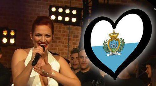 """Jessika canta """"Who We Are"""", la canción de San Marino en Eurovisión 2018"""