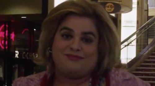 Paquita Salas en el teatro de los Oscar en la promo de la segunda temporada