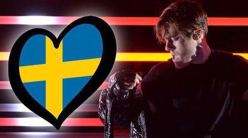 """Benjamin Ingrosso canta """"Dance You Off"""", la canción de Suecia en Eurovisión 2018"""