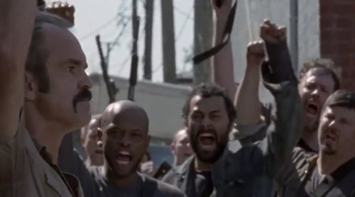 "Promo del 8x12 de 'The Walking Dead': ""The Key"""