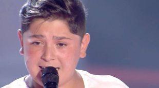'La Voz Kids': Iván, primo de David Barrull ('La Voz 2'), conquista a todos los coaches en su audición