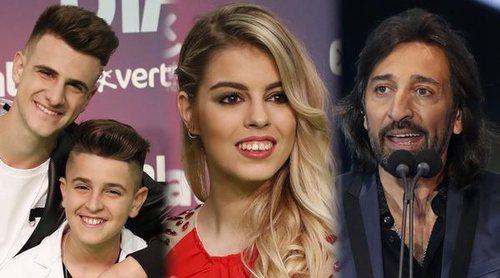 Las reacciones de los ganadores en los Premios Dial 2018: De 'OT 2017' a Pastora Soler y Antonio Carmona