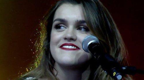 """Alfred y Amaia ('OT 2017') cantan """"Tu canción"""" en La noche de Cadena 100"""