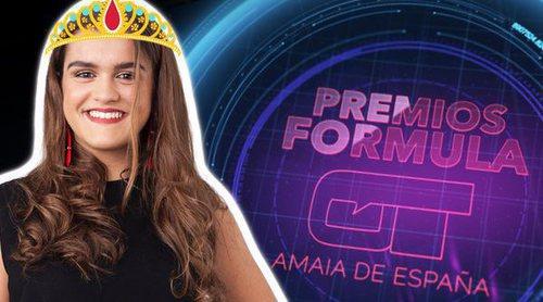 Fórmula OT: Los nominados a los I Premios FOT Amaia de España