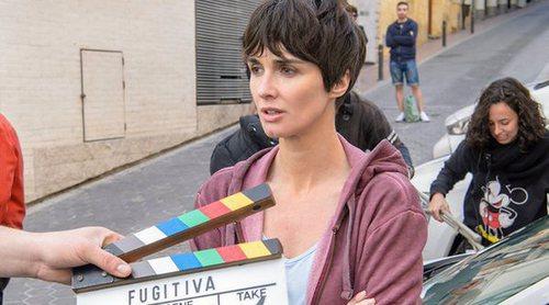 Making of de 'Fugitiva': Así se ha rodado la serie de Paz Vega en Benidorm