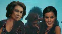 """La parodia el videoclip de """"Lo malo"""" con la Reina Letizia y Doña Sofía como protagonistas en 'Late Motiv'"""