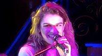 """Amaia canta """"Instrucciones para bailar un vals"""" (El Kanka) en la London Eurovision Party 2018"""