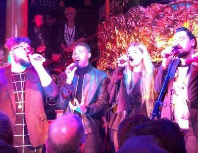 """Equinox (Bulgaria) canta """"Bones"""" en la London Eurovision Party por primera vez en directo"""