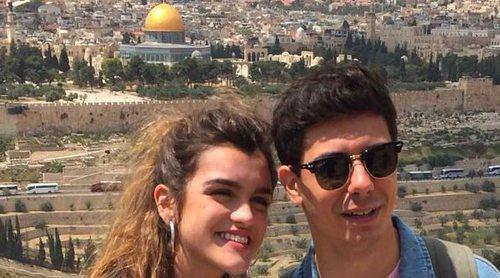 """Amaia y Alfred ensayan """"Tu canción"""" en Israel Calling, la preparty de Tel Aviv"""