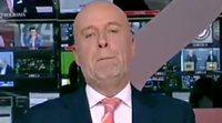 """La curiosa despedida de un presentador del Canal 24 Horas: """"Volvemos mañana desde el Pirulí que te vi"""""""