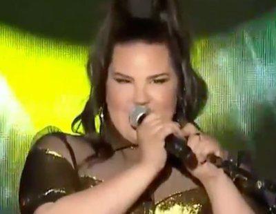 """Netta Barzilai (Israel) canta """"Toy"""" en la preparty de Tel Aviv por primera vez en directo"""