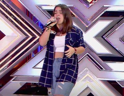 Así reacciona el jurado de 'Factor X' al escuchar cantar a Inés, la sobrina del actor Roberto Álamo