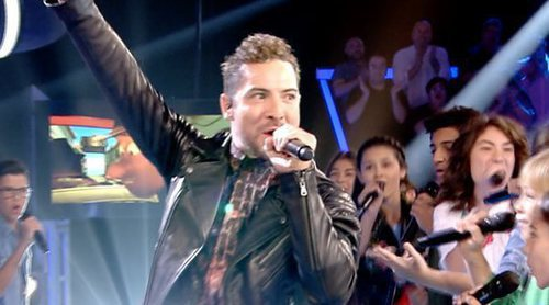 "'La Voz Kids': David Bisbal se estrena como ""supercoach"" con una actuación grupal con los concursantes"